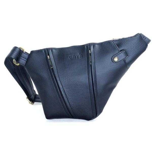 Túi đeo chéo Unisex CNT MQ25 đen năng động