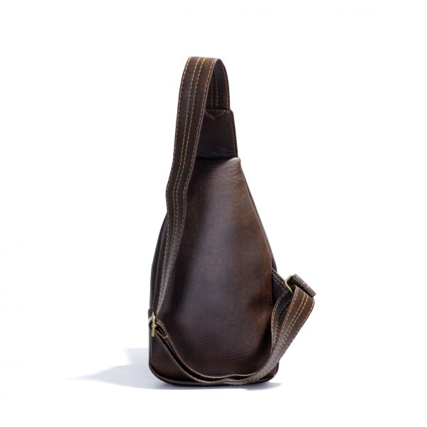 Túi đeo chéo Unisex CNT MQ15 Nâu cá tính