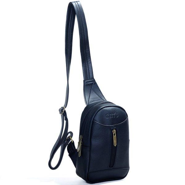 Túi đeo chéo Unisex CNT MQ22 đen cá tính